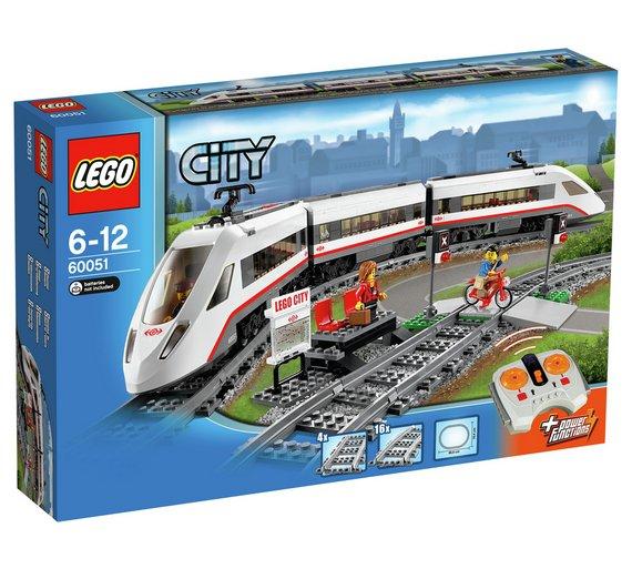 LEGO City High Speed Passenger Train - 60051 £61.99 @ Argos