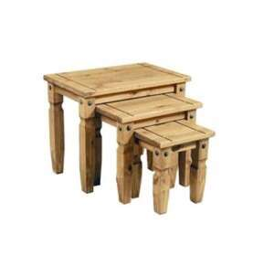 Corona nest of tables £34.99 was £49.99 £3.99 p&p or Free c&c @ QD