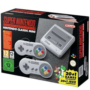 Snes classic at Argos for delivery (Glasgow postcode) £79.99 @ Argos