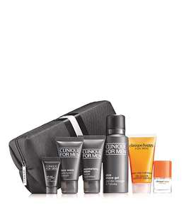 Free 7 piece grooming gift for him when you spend £30 @ Clinique (Free delivery)