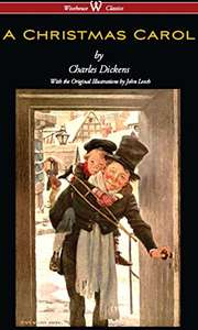 A Christmas Carol by Charles Dickens - this copy I checked really has illustrations inside @Amazon Kindle Free
