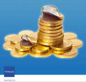 Free net of chocolate coins O2 Priority