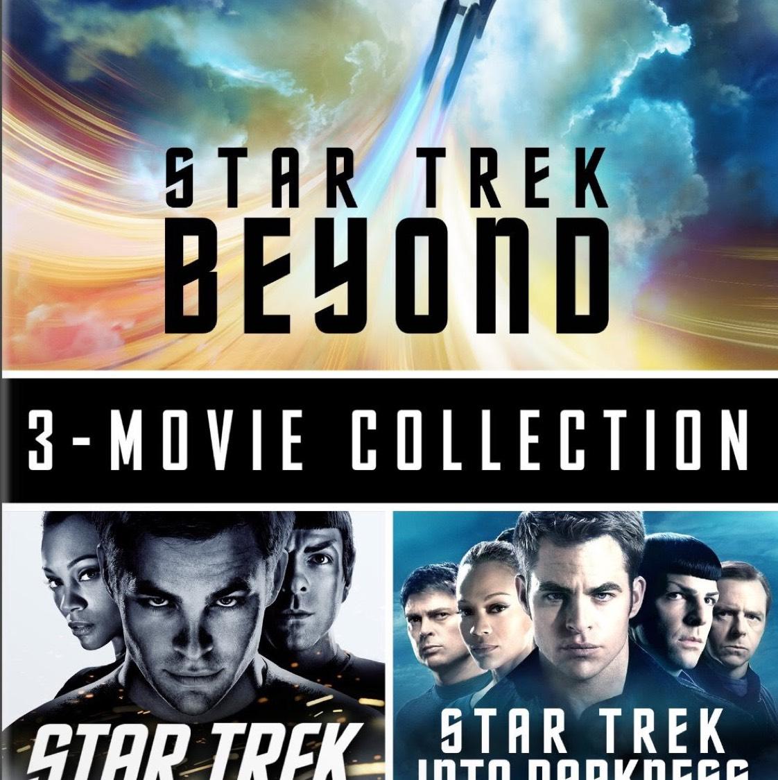 Star Trek 3-Movie collection (2 in 4K, 1 in HD) on iTunes - £14.99