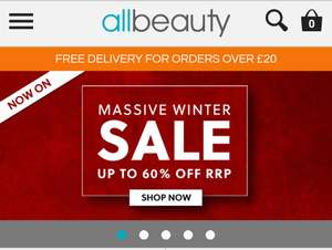 allbeauty massive winter sale