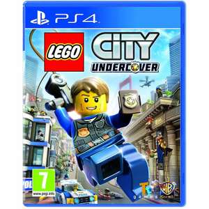 [PS4] LEGO City Undercover - £14.53 / Street Fighter V - £10.22 - MyMemory (Code: MMLOYAL)