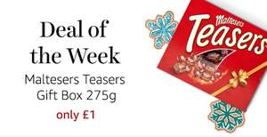 Malteser's Teasers Gift Box only £1 on Amazon Fresh this week!