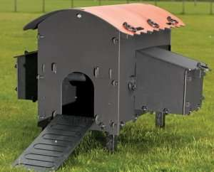 Eco chicken coop for 4 chickens, £199.99 delivered @ solway recycling