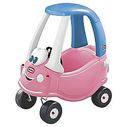 Little Tikes Cozy Coupe Princess Ride-On Car was £48 now £35.50 C+C @ Tesco Direct