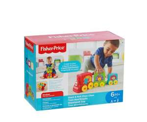 Only £9 for Fisher-Price - Stack and Roll Choo Choo set @ Debenhams