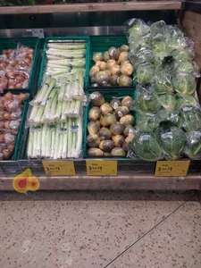 3 for £1 on Christmas veg - Packs of 500g Leeks -  Whole Swede - Savoy Cabbage - Carrots 1kg - Parsnips 500g - Brussel Sprouts 500g - 2.5kg Maris Piper Potatoes - 1kg Onions  @ Morrison's instore