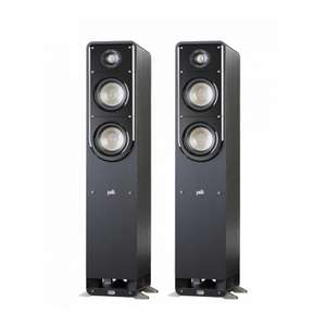 Polk S50 Floorstanding Speakers Pair Black - £399 delivered @ Superfi