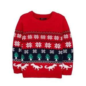Kids Christmas jumper £3.74 w/code + £3.95 Delivery @ Bargain Crazy