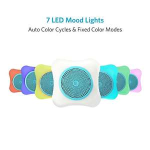 Colour changing mini Bluetooth speaker £5.99 (Prime) £9.98 (Non Prime) or just 99p if combined with app offer @ Sold by SumbayEU and Fulfilled by Amazon