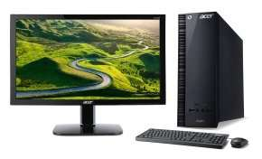 "Acer Aspire XC-704 Desktop + 24"" Full HD Monitor - £299 incl. delivery at Ebuyer"