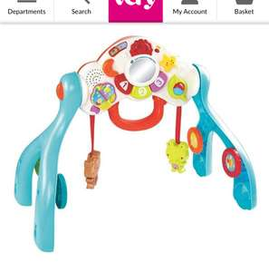 V-tech 3 in one baby centre down from £34.99 at Very - £13.99