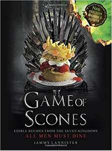 Game of Scones: by Jammy Lannister - Hardback- Amazon - £5 (Prime) £7.99 (Non Prime)