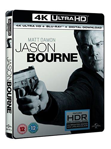 Jason Bourne (4K UHD Blu-ray + Blu-ray + Digital Download) [2016] £14.90(Prime) £16.89 (Non Prime) @ amazon.co.uk