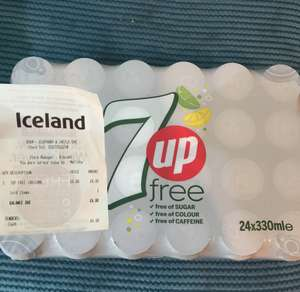 7UP Free Only £6 for 24 cans @ Iceland (Elephant and Castle)