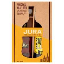 Jura Origin 10yo 20cl, 330ml Ale & Whisky Glass Gift Pack - £10 @ Tesco
