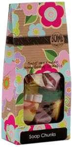 Bomb Cosmetics Soap chunks gift Pack - £4.63 (Prime) £8.62 (Non Prime) @ Amazon