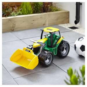 Lena Giant Truxx Tractor (62cm long) was £20 now £10 / Lena Giant Truxx Digger (68cm long) was £20 now £10 C+C @ Tesco Direct