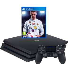 PlayStation 4 Pro 1TB Black + FIFA 18 Bundle £279 delivered with code (New account) @ AO