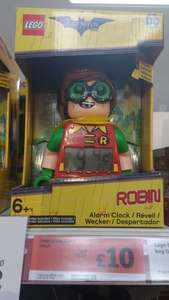 Lego robin alarm clock. Sainsbury's instore was £20 now £10