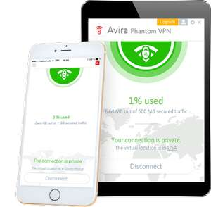FREE 1 YEAR Phantom VPN pro @ AVIRA