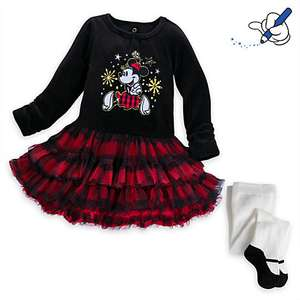 Official Disney Minnie Mouse Dress + Tights for Baby Girls £9.99 / £13.94 delivered @ Disney store