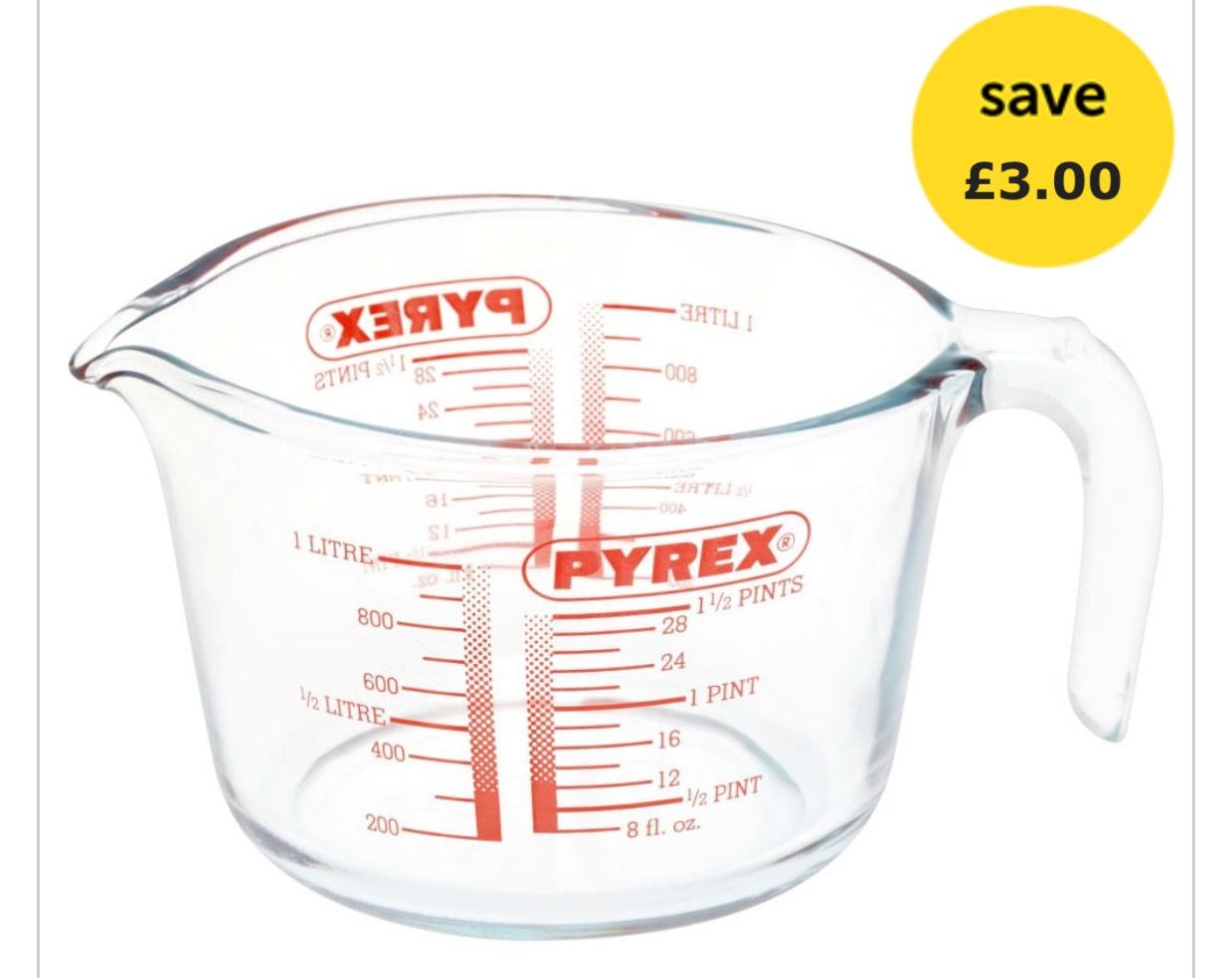 Pyrex Classic Measuring Jug 1L £3 @ Wilko