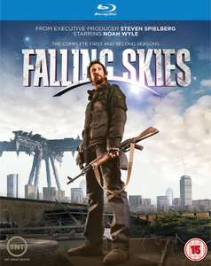 Falling Skies - Season 1-2 [Blu-ray] [2013] [Region Free] £7.99 / £9.98 non prime @ amazon.co.uk