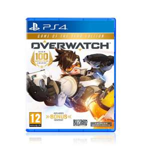 Overwatch game of the year edition at Amazon for £21.90