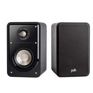 Polk S15 Signature Speaker - Pair Black Walnut - £149 delivered @ Superfi & Amazon marketplace