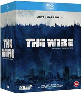 The wire complete series blu ray £32.49 @ Cooshop