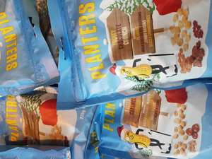 Planters nuts Salted Caramel or Chocolate Crunch 39p each or 3 for £1 @ Heron foods