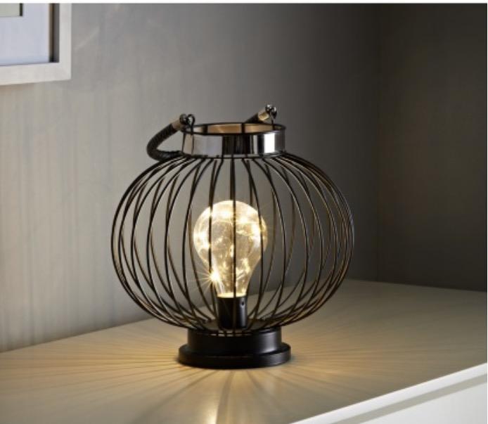 LED bulb lantern on sale - £3.99 @ B&M