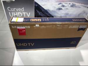 "Smart 40"" Samsung 4K UHD TV (used) - Instore only £300 @ John lewis"
