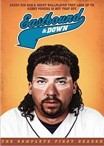 Eastbound and Down - Season 1-4 [DVD] £18.49 prime / £20.48 non prime @ Amazon