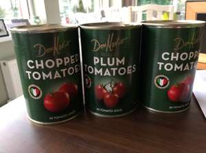 Don Mario Tinned Tomatoes (3 Tins) £1 @ Iceland