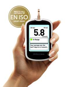 FREE* OneTouch Verio® Meter for those who are on insulin therapy