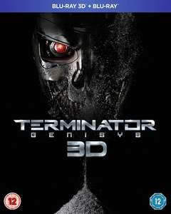 Terminator Genisys (3D Edition with 2D Edition) [Blu-ray] @ Zoom £4.21 SIGNUP10 @ Checkout
