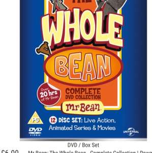 The whole bean complete dvd collection £6 @ Wearehead instore Belfast
