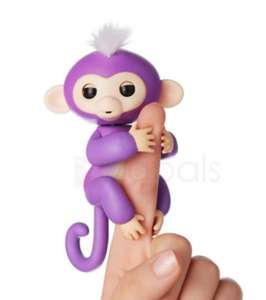 Interactive Finger Baby Monkey Robot Electric Pet Toy for Kids £5.37 @ Zaplas