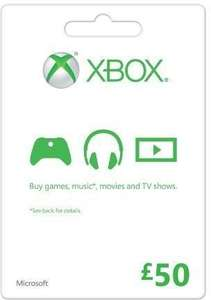 £50 Xbox Live Gift Card only £46.99 @cd keys