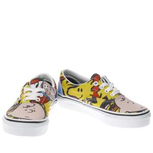 Vans yellow & red era Peanuts - Charlie Brown Junior trainers £14.99 / Toddler £17.99 / Adults £29.99 @ Schuh