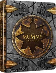 "Exclusive ""The Mummy"" Steelbook trilogy @ Zavvi for £10.99 w/ free P&P"