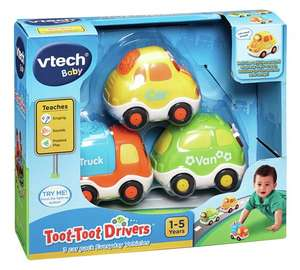 Vtech toot toot drivers set 1 - van, car and lorry @ Argos £10.99