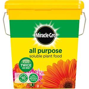 Miracle Gro 2kg soluble plant food £7.66 Amazon Prime exclusive
