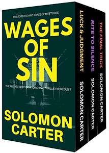 WAGES OF SIN by Solomon Carter: The Private Investigator Crime Thriller Series Boxed Set Free @ Amazon Kindle Edition & iBooks