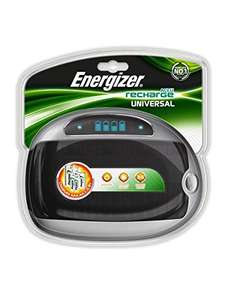Energiser universal charger for aa aaa C D 9V £17.59 prime / £21.58 non prime Sold by LED-ART and Fulfilled by Amazon